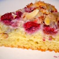 Raspberry-Almond Coffee Cake