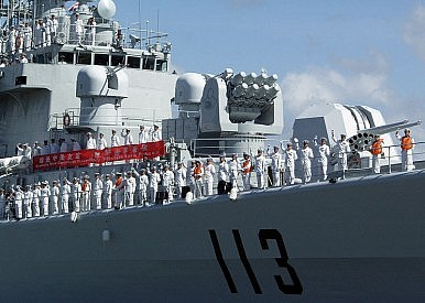China's Military Trains for War Against Japan
