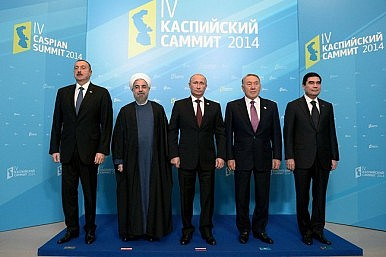 The presidents of the litorial states of the Caspian
