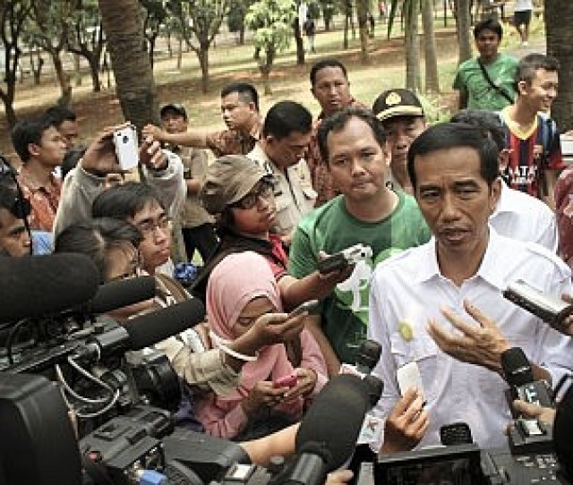 Indonesias 2019 Election Heats Up With Vice Presidential Picks