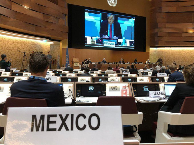 Mexico's delegation on the UN Human Rights Council