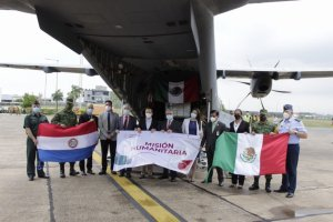 Paraguay receives the donation of vaccines by Mexico