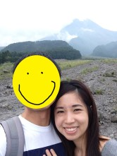 Mandatory selfie with Merapi.
