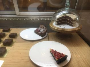 Cakes and pies selling out by the end of the day.