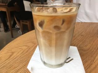 Iced Latte (IDR 40k).