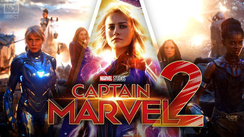 Captain Marvel 2 Rumored To Set Up the Story of New Avengers Movie