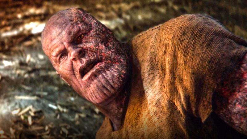 Avengers Endgame Thanos Death