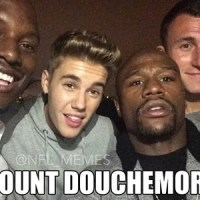 Justin Bieber, Floyd Mayweather And Johnny Football Are 'Mount Douchemore'