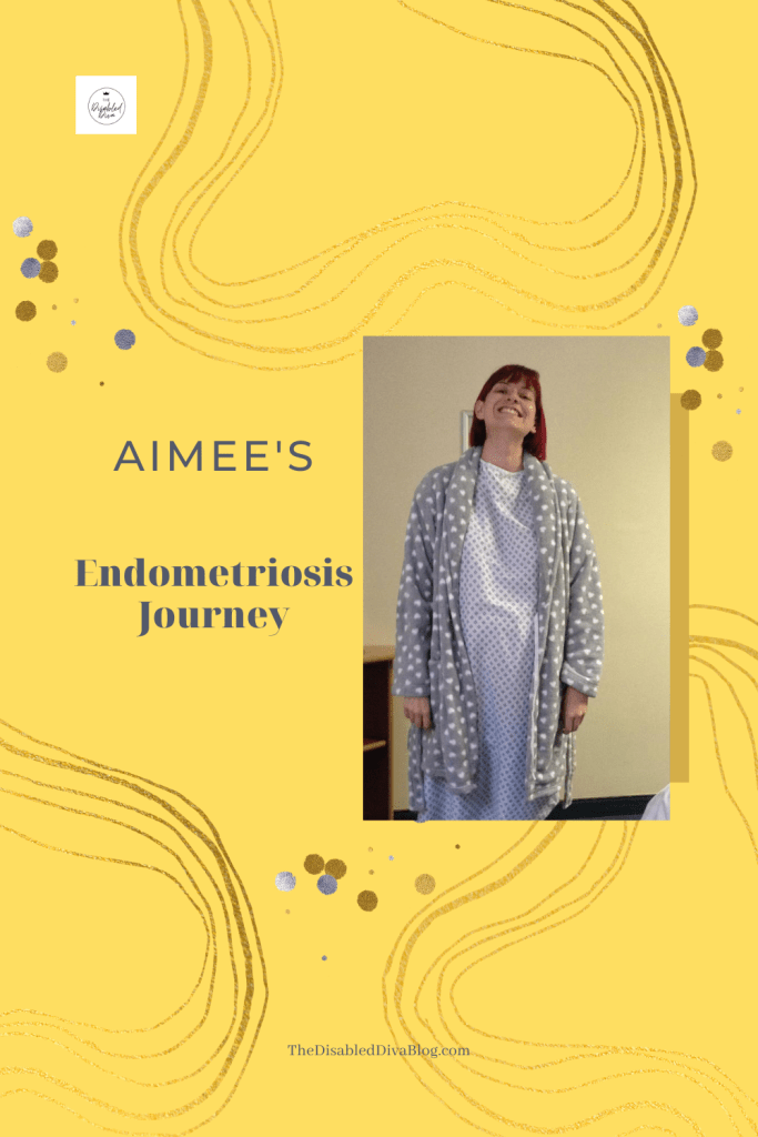 Aimee from Chronic Writer shares her endometriosis journey. What helps, what didn't, and more.