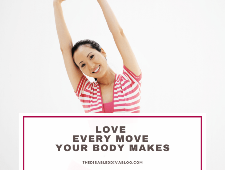 Love every move your body makes. February chronic health challenge