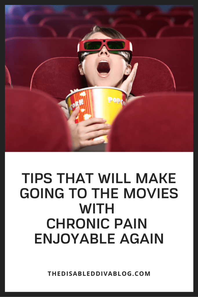 Tips That Will Make Going to the Movies with Chronic Pain Enjoyable Again