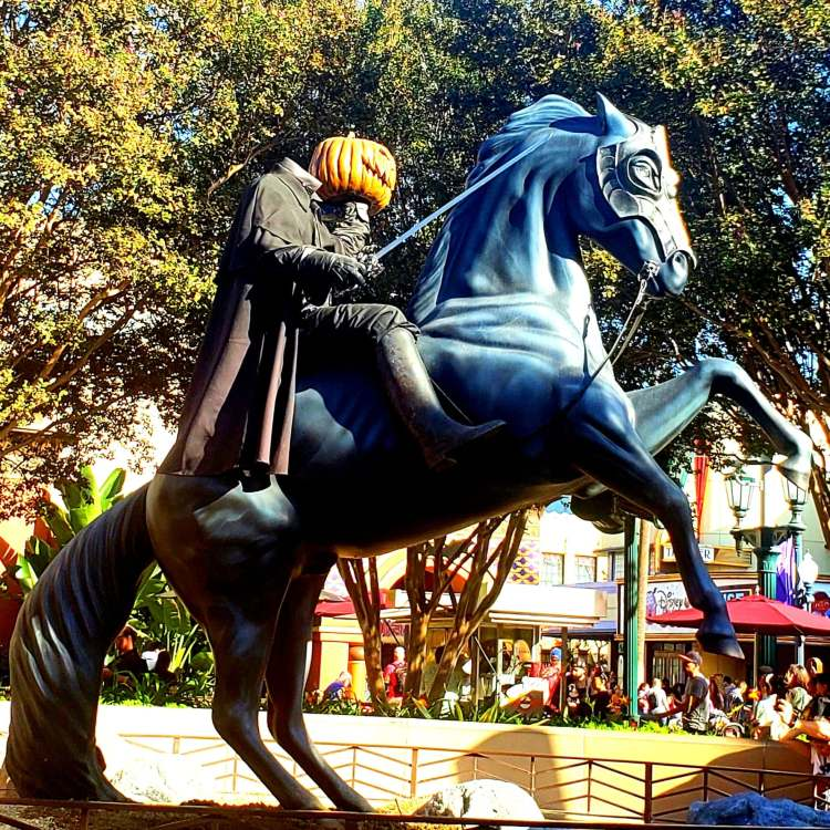 Headless Horseman at Disneyland