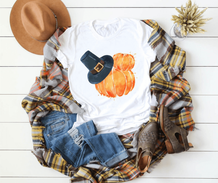 mickey mouse pumpkin shirt