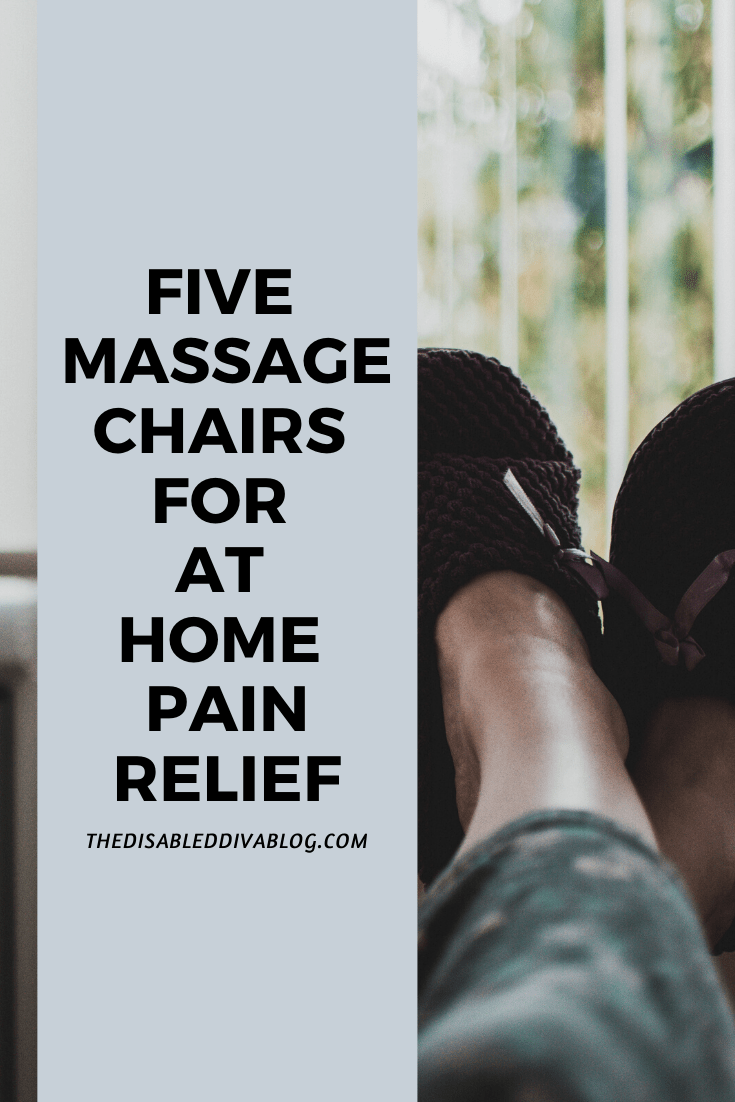 Five massage chairs for pain relief and muscle relaxation while in the comfort of your own home. Find one that fits your needs!
