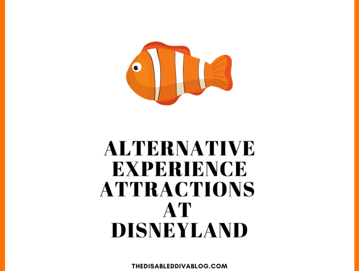 Three alternative experience attractions at Disneyland