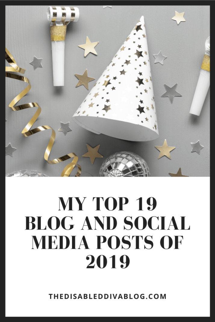 My Top 19 Chronic Illness Blog and Social Media Posts of 2019