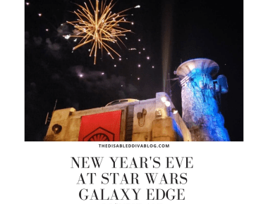 New Year's Eve at Star Wars Galaxy Edge Disneyland