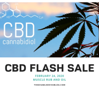 CBD Flash Sale! Muscle Rub and Oil! Don't Miss this Deal!