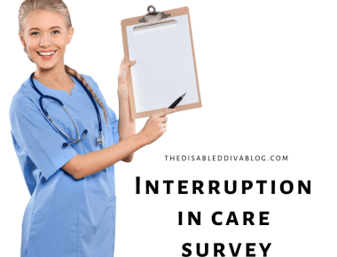 Interruption in chronic and terminal healthcare survey due to covid19