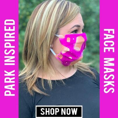 Disney Park Inspired Face Masks