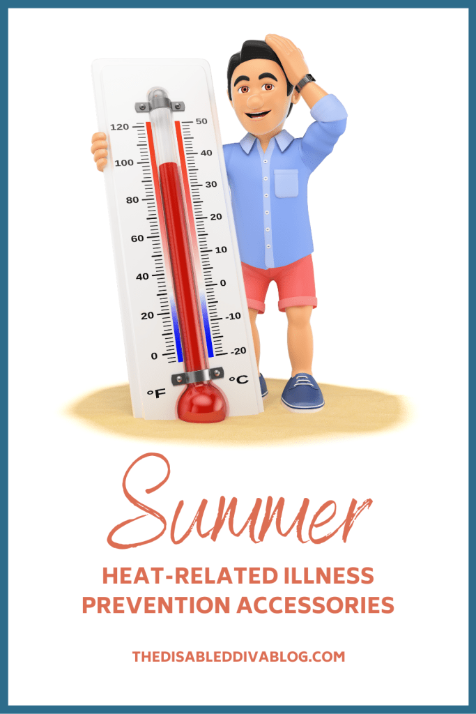 Heatstroke is no joke! These heat-related illness prevention accessories will keep you comfortable and cool while outdoors all summer long! Plus the signs of heat-stroke and heat exhaustion and what you should do if they are present.