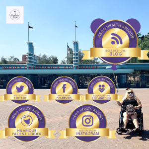 The Disabled Diva, Cynthia Coverts 2020 WEGO Health Award Nominations