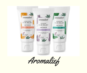 Aromalief, Hemp Pain Relief Lotion