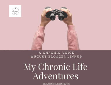 This month's blogger linkup is all about my chronic life adventures. 😉 Pandemic and chronic pain won't stop me!