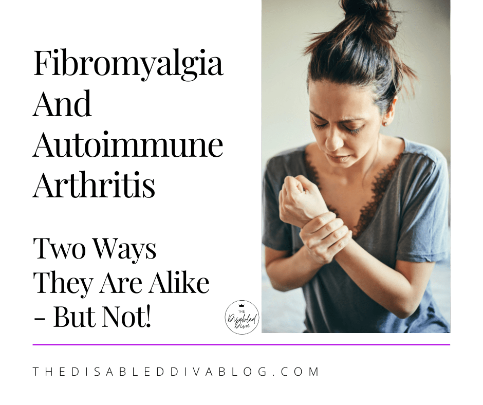 Fibromyalgia & autoimmune arthritis share many similar symptoms. 🩺 What they are and why knowing the difference is important.