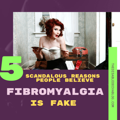 Do your friends and family think fibromyalgia is fake? 👉 Here are 5 reasons people believe that and why they are wrong.