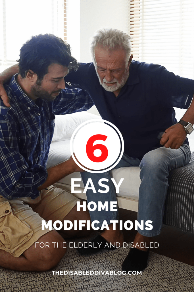 How safe is your elderly or disabled relative? Sure you are taking precautions to not expose them to COVID, but is their home really a safe place to be? Here are 6 easy home modifications to keep your loved ones safe.