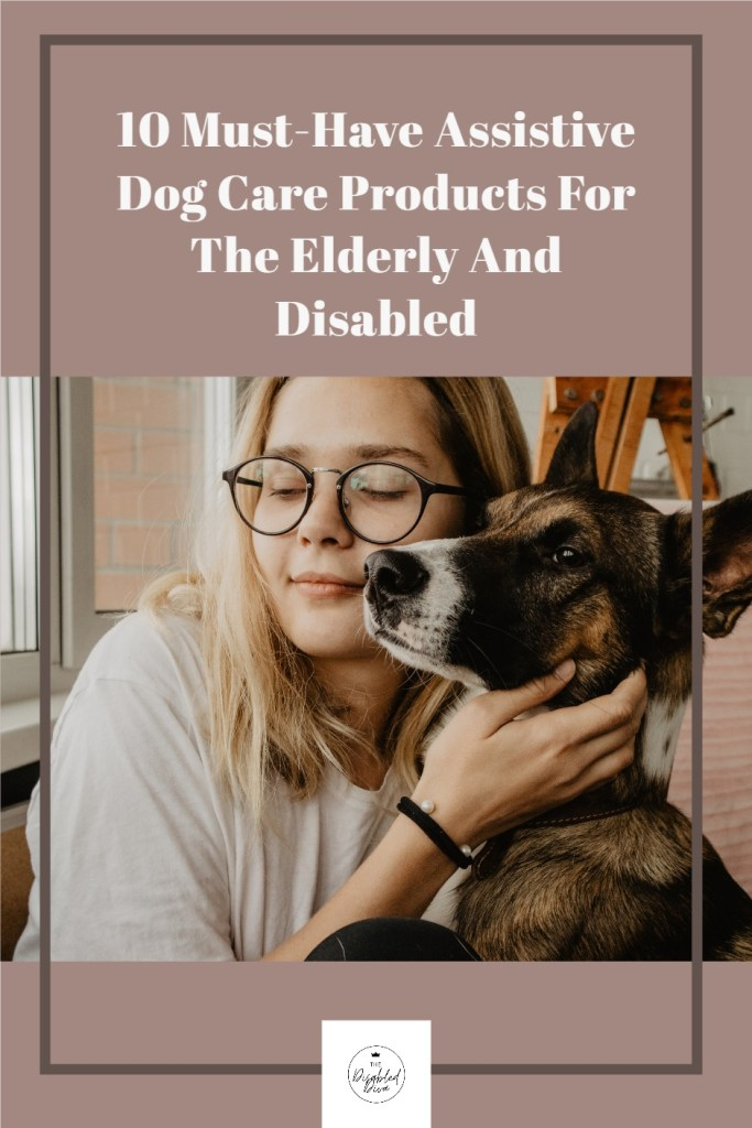 Chronic pain and illness made me swear off pet ownership until I learned of some fantastic assistive products that make caring for a dog easy. In this article, I share 10 dog care products for the elderly and disabled.