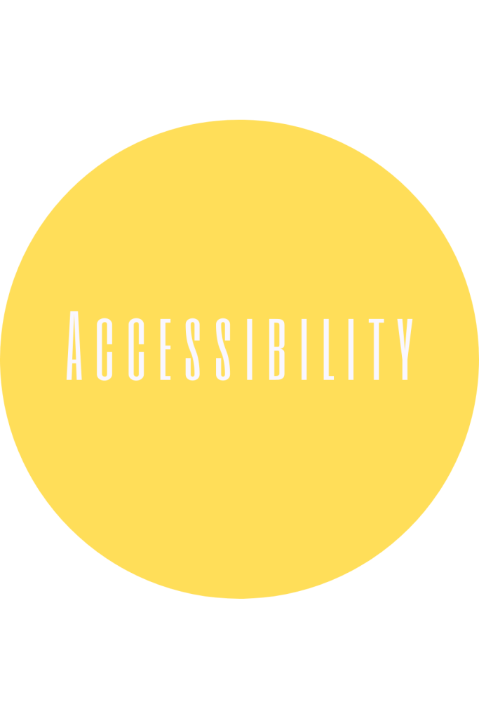 Accessibility support, research, information, and resources