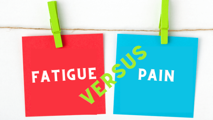 Fibromyalgia fatigue versus pain