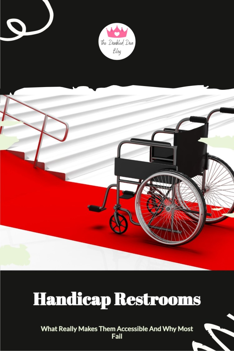 To roll out the red carpet to wheelchair users, businesses along with medical and government facilities need to make sure we can enter the restroom, not just the stall. Listen in or read more about the lack of accessibility and what needs to change.