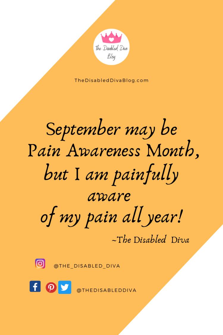 Pain Awareness Quote