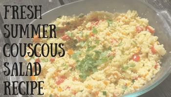 Fresh Summer Couscous Salad | Making My Home Happy