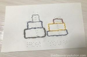 紙刺繍でクリスマスプレゼントを作ろう