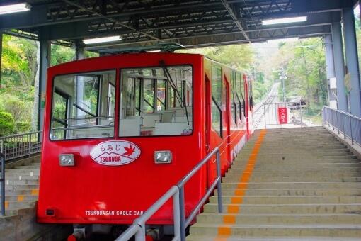 筑波山の紅葉のアクセス