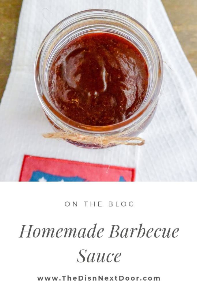 Homemade Barbecue Sauce The Dish Next Door