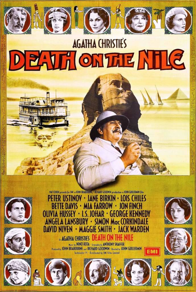 Original Death on the Nile poster