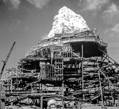 Matterhorn Construction, Anaheim, California, 1959