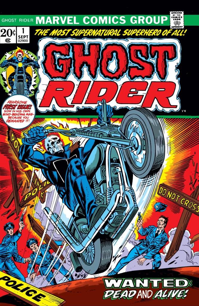 Daimon Hellstrom first apperance Ghost Rider #1 (1973)