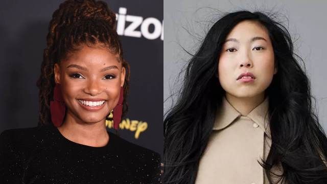 Halley Bailey and Awkwafina