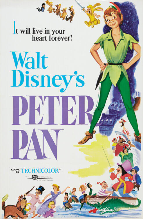 Peter Pan theatrical poster