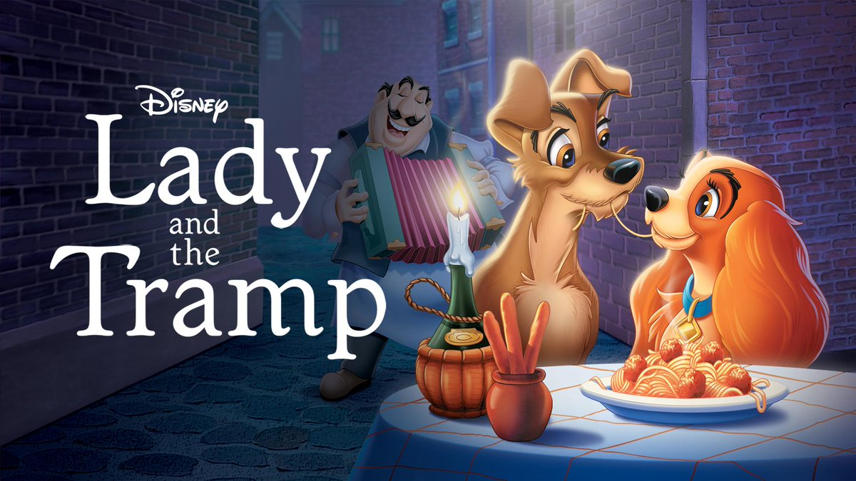 20 Weeks Of Disney Animation Lady And The Tramp