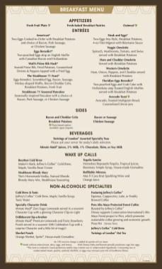 Steakhouse 71 Menu1