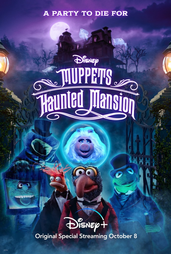 A new poster for Muppets Haunted Mansion.