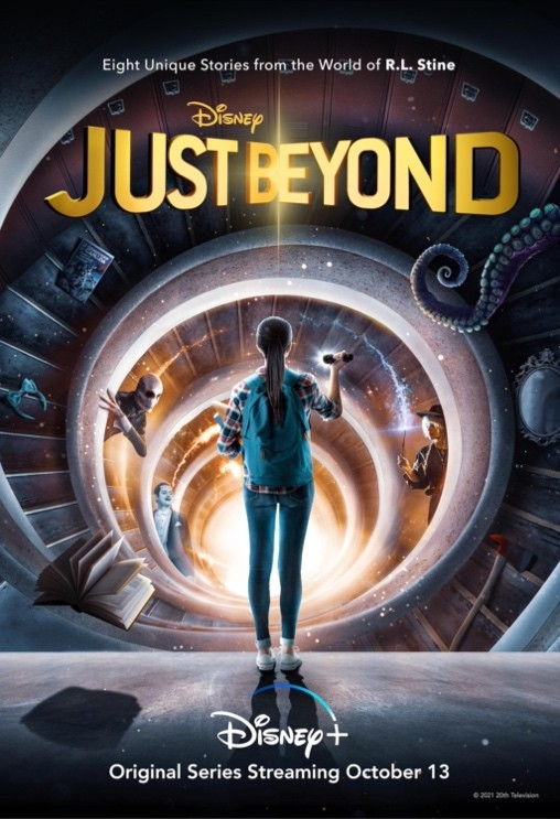 The poster for Just Beyond, a new series coming to Disney+ on October 13th.