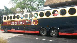 Disney Cruise Line motor coach